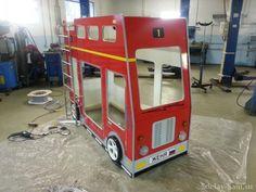 Двухъярусная Кровать-машина для детей своими руками | Сделай Сам www.sdelay.tv