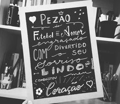 """Boa tarde gente! Mais uma história de amor no ar:  A Camila quando me procurou disse que seu namorado """"Pezão"""" apelido carinhoso que ele tem é cruzeirense gosta de futebol jogos... mas que bate um bolão também no quesito amor. Deu nessa arte aí.  #namorados #sorte #amor #jogo"""