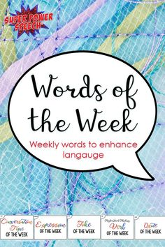 What a great weekly routine! With this, I can work on vocabulary, non-literal language, and conversations every week for a school year! Speech Therapy Activities, Language Activities, Speech Language Pathology, Speech And Language, Teacher Assistant, Special Education Teacher, Social Skills, Vocabulary, Literacy