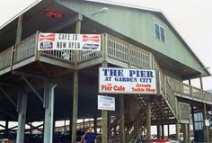 The Pier at Garden City Beach, SC, USA. I've been here so many times I can't eve. The Pier at Gard Garden City Beach Sc, Beach Gardens, Carolina Beach, Garden City South Carolina, Surfside Beach, Beach Music, Pawleys Island, Myrtle Beach Sc, I Love The Beach