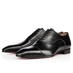 Greggo Flat Black Calf