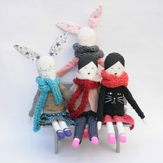 Katja doll by mikodesign on Etsy