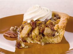 Omena-pekaanipiiras Sweet Pie, Something Sweet, Cheesesteak, Waffles, French Toast, Cupcakes, Cookies, Baking, Breakfast