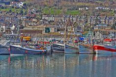Newlyn Harbour Penzance Cornwall UK