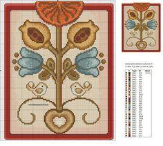 3 of 3 Just Cross Stitch, Cross Stitch Charts, Cross Stitch Patterns, Stitch 2, Machine Embroidery, Projects To Try, Valentines, Crochet, Crafts