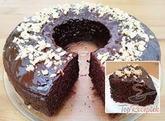 A legtutibb desszertek minden mennyiségben. | TopReceptek.hu Baking Recipes, Cake Recipes, Sweet Recipes, Healthy Recipes, Food Hacks, Doughnut, Cheesecake, Deserts, Food And Drink
