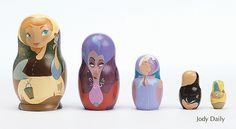 Cinderella Nesting Dolls by Jody Daily   Flickr - Photo Sharing!