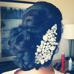 maybe a little less....big on the hair assec but the hair is pretty updo