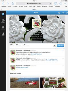 Følg oss på Twitter - @portveien2