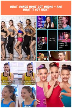 What 'Dance Moms' Got Wrong - And What It Got Right dance Moms What 'Dance Moms' Got Wrong - And What It Got Right
