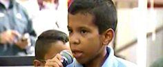 VIDEO: CONOZCA AL NIÑO QUE SORPRENDIÓ A MADURO AL DECIRLE QUE QUIERE SER PRESIDENTE DE VENEZUELA