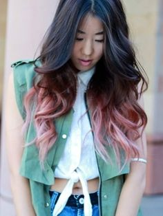 Cool. Wish I could do unique hair colours like this!