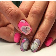 Про Ногти (МК,материалы для ногтей)Nails PRO™ Sexy Nails, Hot Nails, Hair And Nails, Anime Nails, Color Block Nails, Art Deco Colors, Animal Nail Art, Easter Nail Art, Super Cute Nails