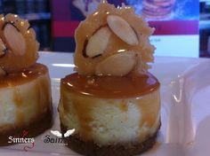 mini caramel cheesecakes, available gluten free or not Caramel Cheesecake, Cheesecakes, Minis, Gluten Free, Pudding, Desserts, Food, Glutenfree, Tailgate Desserts