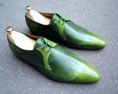 Caulaincourt shoes - Paris - anis