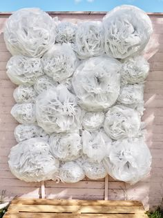 How to make a flower wall, cheap and budget friendly