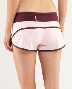 RUN: Speed Short - pretty pink / bordeaux drama / tonka stripe bordeaux drama Lululemon Shorts, Lululemon Athletica, Bordeaux, Workout Wear, Pretty In Pink, Gym Shorts Womens, Drama, Yoga, Running
