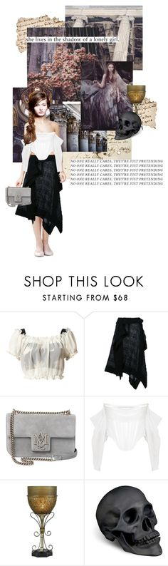 """""""tell me you'll miss me  (Alayne Stone)"""" by summersdream ❤ liked on Polyvore featuring GET LOST, Chicnova Fashion, Trianon, forme d'expression, Alexander McQueen, Givenchy, L'Objet, modern, GameOfThrones and ASongOfIceAndFire"""
