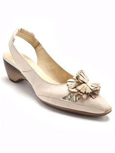 Sandales bicolores en cuir, ultra souples