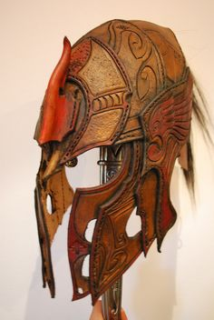 elven helmet front by Sharpener.deviantart.com on @deviantART