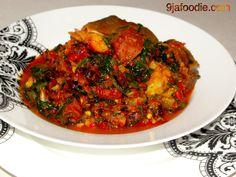 Nigerian spinach stew!