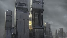 Bilderesultat for sci fi towers