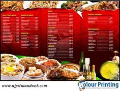 We offers high quality #Restaurant #Menu #Printing that will impress your customers. http://www.njprintandweb.com/printing/restaurant-menu-printing/