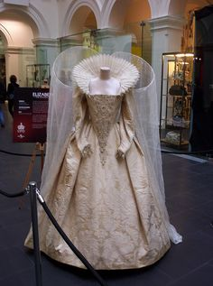 Worn by: Cate Blanchett as Queen Elizabeth I  Costume Designer: Alexandra Byrne  Film: Elizabeth: The Golden Age