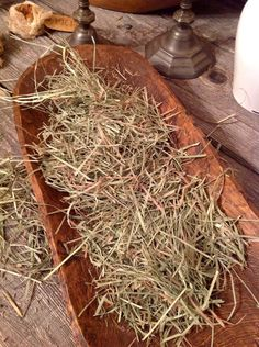 Primitive Hand Dried Easter Grass #NaivePrimitive