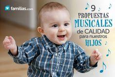 Si no sabes qué tipo de música es adecuada que escuche tu bebé o hijo pequeño, este artículo es para ti. No te pierdas estas bellas y divertidas canciones.