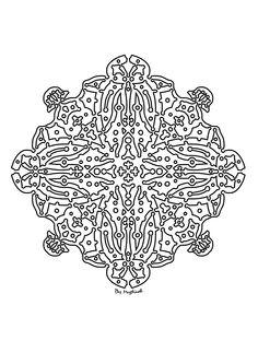 #mandala #zentangle #arttherapie #coloriagedulte #coloriagezen #coloriage Zentangle, Creations, Art Therapy, Drawing Drawing, Zen Tangles, Zentangles