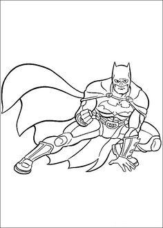 Batman Ausmalbilder 3 Superhero Coloring PagesCartoon