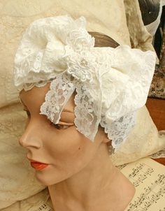 Items similar to lace headband - LUCY- white stretch lace on Etsy Scrap Fabric, Fabric Scraps, Lucy White, Lace Headbands, I Love Lucy, Stretch Lace, Stretches, Bride, Trending Outfits