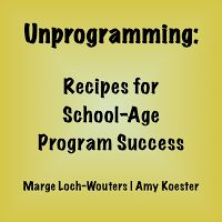 Here's the first in a series of things to think about when planning programming for the school age.