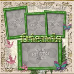Digital Scrapbooking Kits | Casa Colours photobook-(CatDes) | Everyday, Family, Friends | MyMemories