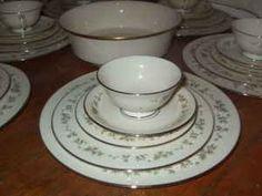 Fine China Patterns lenox reverie pattern fine bone china * twelve complete 5 piece