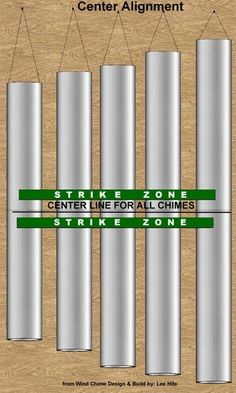 Strike Zone for Center Alignment wind chimes