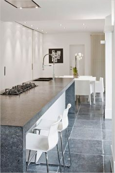 Hullebusch Highlights Stone Interior Grey Flooring Kitchen Kitchens Cool