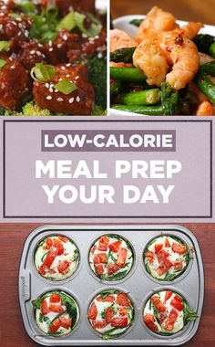 Meal prep your WHOLE day with satisfying low-calorie recipes! Watch til the end to see some low-calorie snacks!✨