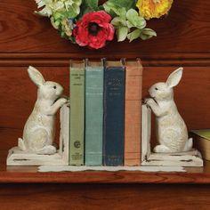 Rabbit Bookends | Sturbridge Yankee Workshop
