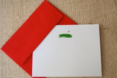 Watercolor golf stationery by inklingspapers on Etsy