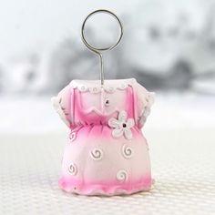 Suport poza sub forma de rochita roz