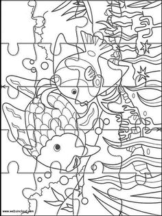 Printable Jigsaw Puzzles To Cut Out For Kids Nature 39 Coloring Pages