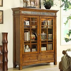 Need this for my living room!  Craftsman Home Door Bookcase Riverside Furniture http://www.amazon.com/dp/B008F5KS40/ref=cm_sw_r_pi_dp_LXh8ub1Y513SW