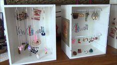 tuto créer vos présentoirs à bijoux pas chers avec de la récup par kerro...