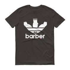Classic Barber Sports Logo t-shirt (dark shirts)