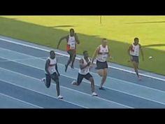 Akani Simbine 9.92 (+1.7) vence a  Thando Roto 9.95 en los  100m AGN Champs 2017
