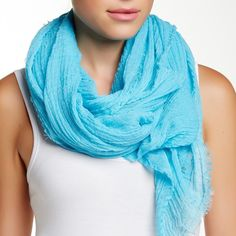 FINAL PRICE❗️Steve Madden Solid Woven Scarf Bright blue scarf to help brighten any outfit (especially if you have a lot of black clothes like me). Great scarf for year round, perfect for winter and fall to add a pop of color and perfect for spring and summer for over a tank since material isn't heavy. Please use the offer button to make your offers, no trades! Price is firm. Steve Madden Accessories Scarves & Wraps