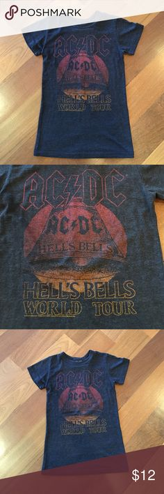 AC/DC T-Shirt Size M but fits like a small Tops Tees - Short Sleeve