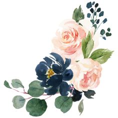 Watercolor Cards, Watercolour Painting, Watercolor Peony, Floral Watercolor Background, Illustration Blume, Floral Drawing, Arte Floral, Painting Inspiration, Flower Art